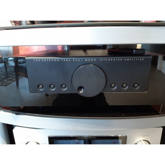 The Gryphon tabu dual mono integrated amplifier